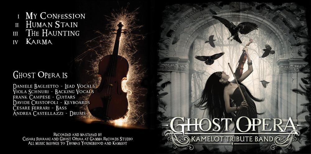 Ghost Opera  –   The Silent Tide    (2015); cover artwork by Cesare Ferrari