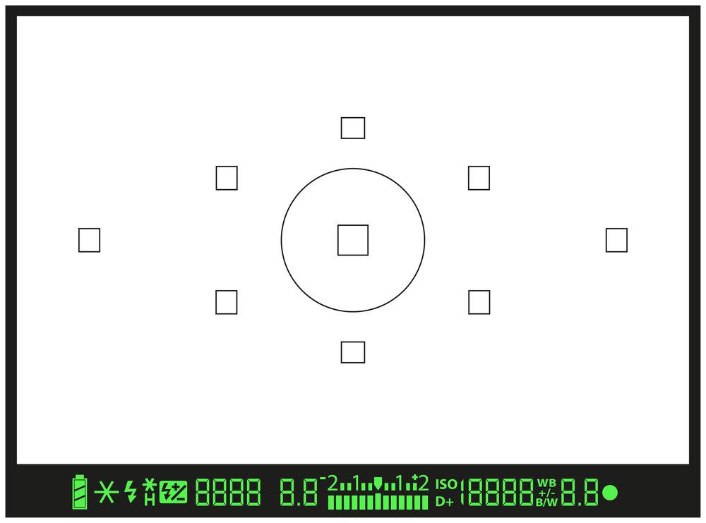 DSLR viewfinder