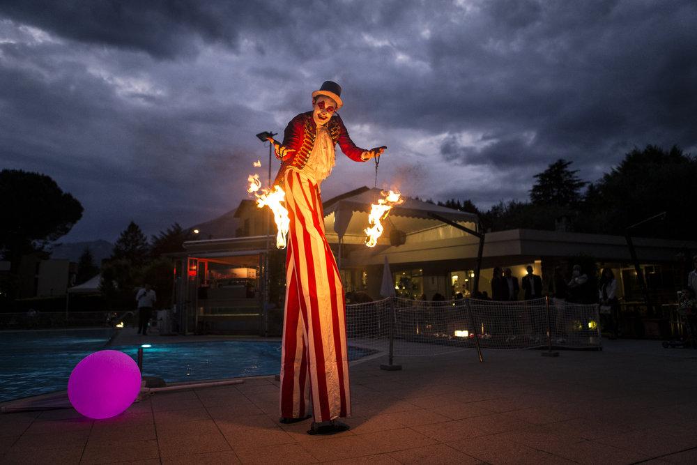 clown spettacolo arte fotografo eventi milano