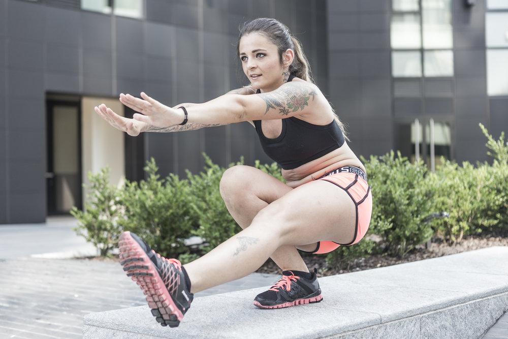 fotografo fitness wellness milano modella