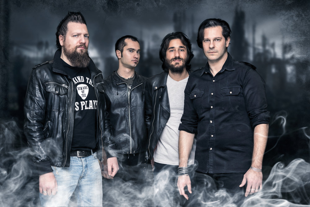 gruppo artista foto milano fotografo band metal