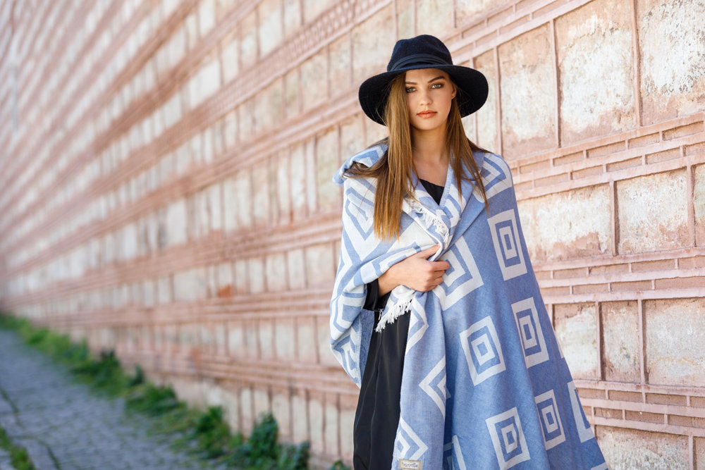 PREMIUM COLLECTION - Our new and unique dual-layered looming created one of the most distinctive turkish towel of this season.