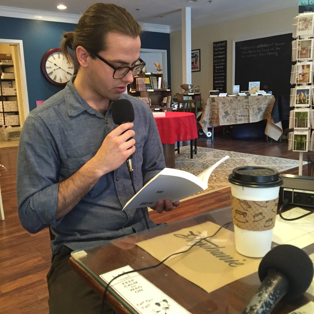Coty reads from his recent poetry collection, The Singing Heart.