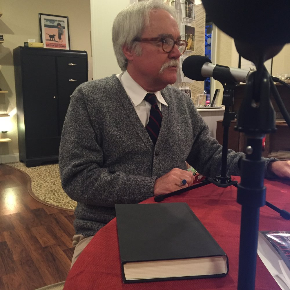 Bill Peak talks about his novel,  The Oblate's Confession .