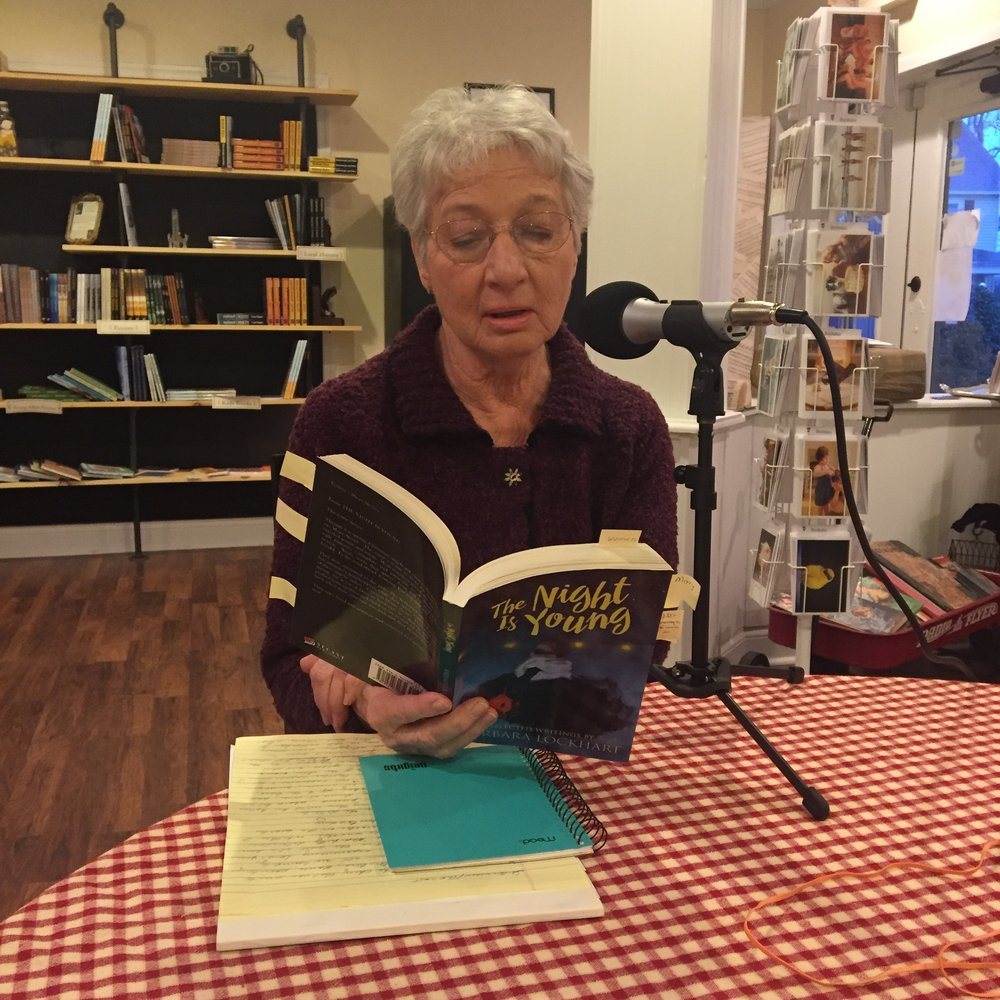 "Barbara Lockhart reads ""The Waltz"" just before the podcast."
