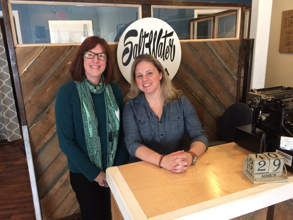 Nancy Sakaduski, author and owner of Cat and Mouse Press, and Stephanie chatted for a few minutes after the podcast.