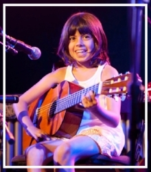 """The way you teach me how to play guitar and piano is fun and I learn a lot. I really look forward to my lessons and if I miss them, I get sad!""  –Sophie (age 10)"