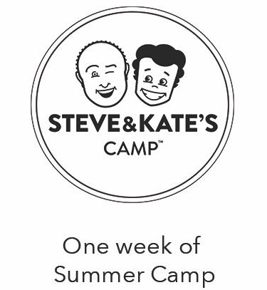 5 Day Passes (Value: $500) When you trust kids, they learn to trust themselves. At Steve & Kate's Camp, we give kids the freedom to choose what they want to do, whether that's music, breadmaking, fashion,filmmaking, coding, sports, or pie-throwing.Open this summer: June 19 – August 18,2017.Grades Pre-K through 7th. 40+ locations including Williamsburg, Kips Bay, and UES.