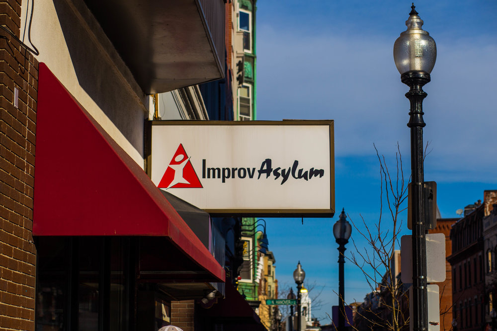 Jacob Fortgang/ Take a load off and catch some of the best comedy in Boston at The Improv Asylum.