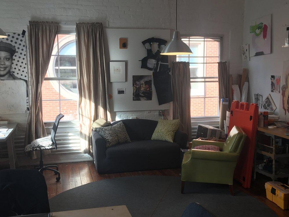 Kate Gilbert's Art Studio