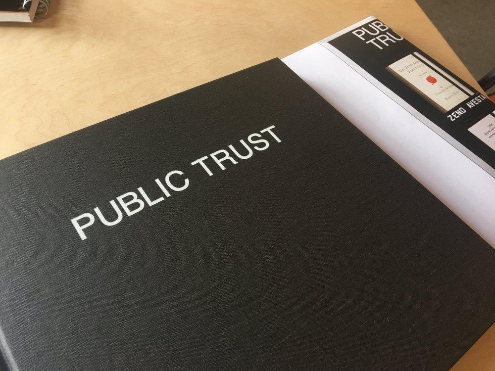 Public Trust Book of Promises
