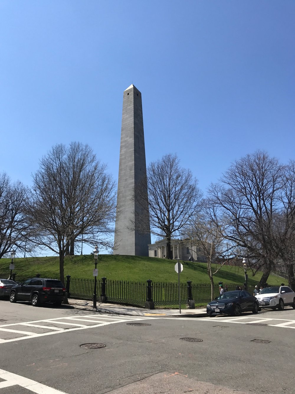 Bunker Hill Monument from South point of view