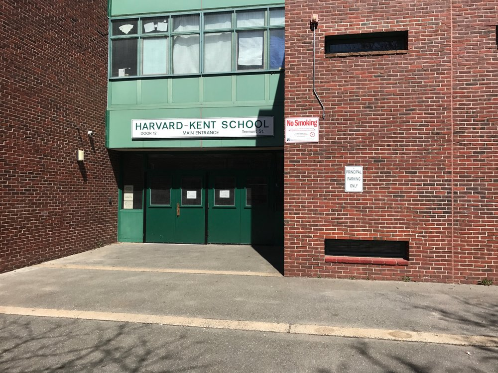 Harvard Kent Elemetry School Enterance