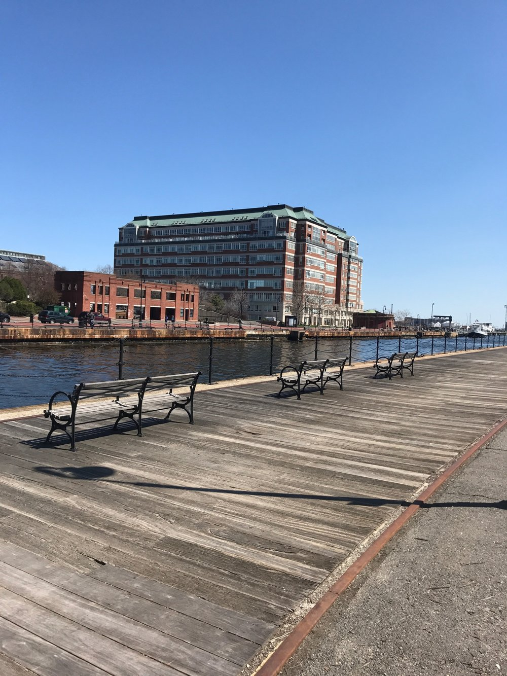 Charlestown Navy Yard docks