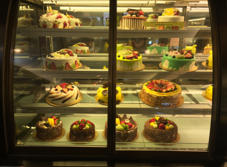 A selection of cakes offered at Top Bread.  Credit: Christopher Polito