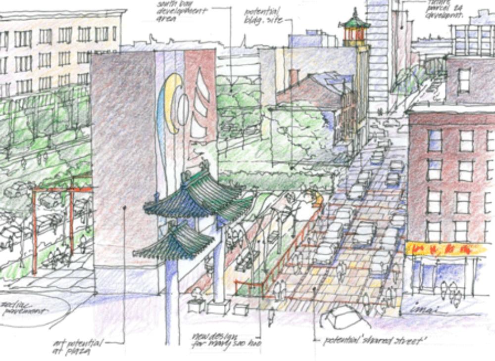 credit: Randall Imai, Chinatown Master Plan 2010
