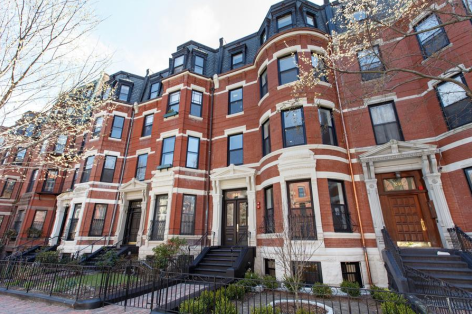Back Bay's famous brownstones on Beacon Street. Photo Courtesy of Trip Advisor.