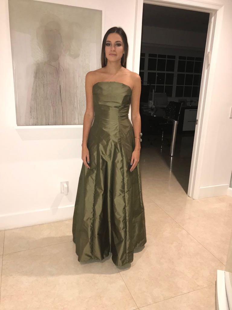 Dress made and modeled by Ashley Stambouli.