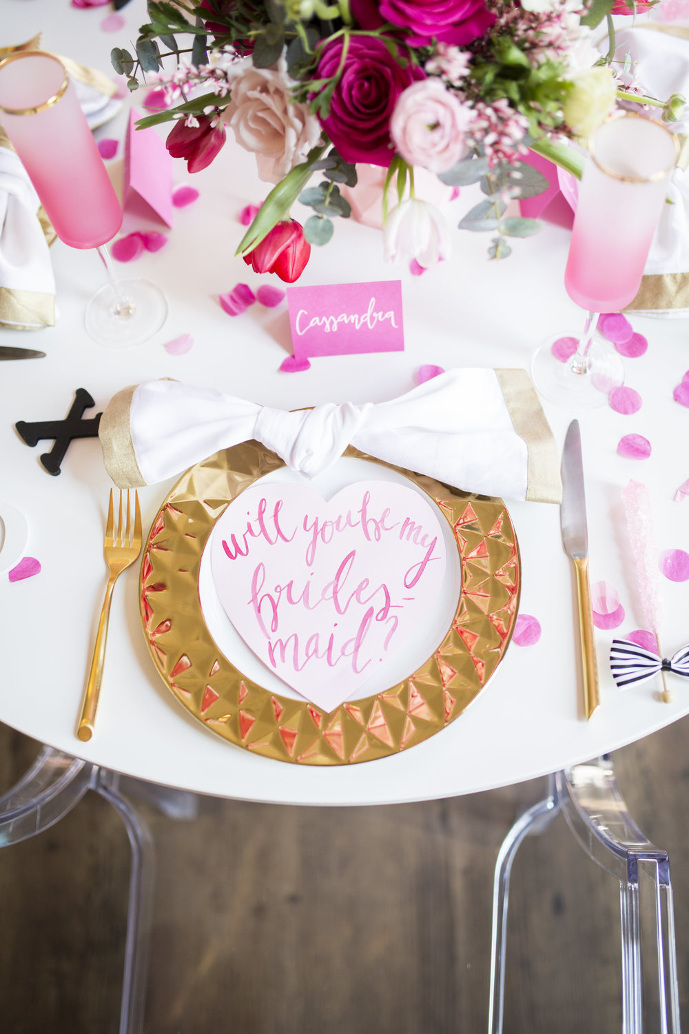 Will You Be My Bridesmaid Party by Event Prep