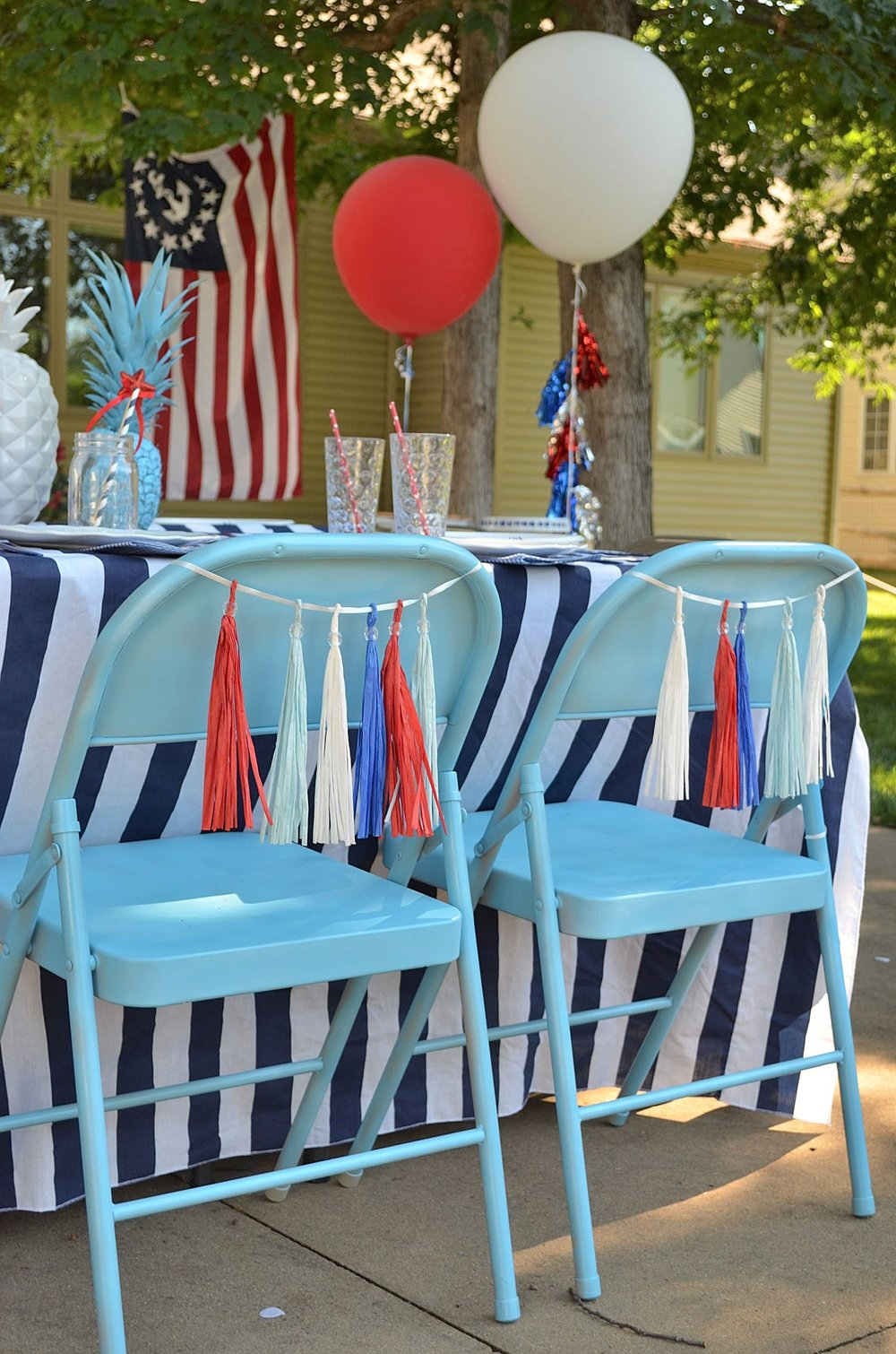 Fourth of July Party & Event Decor