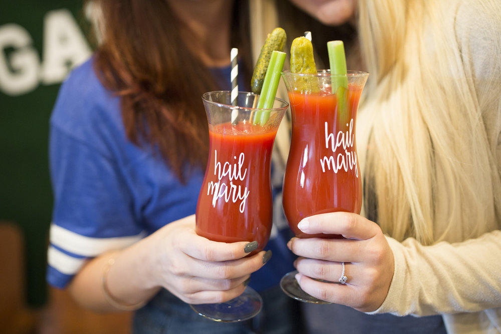 Bloody Mary Bar and Football Party Ideas by Event Prep