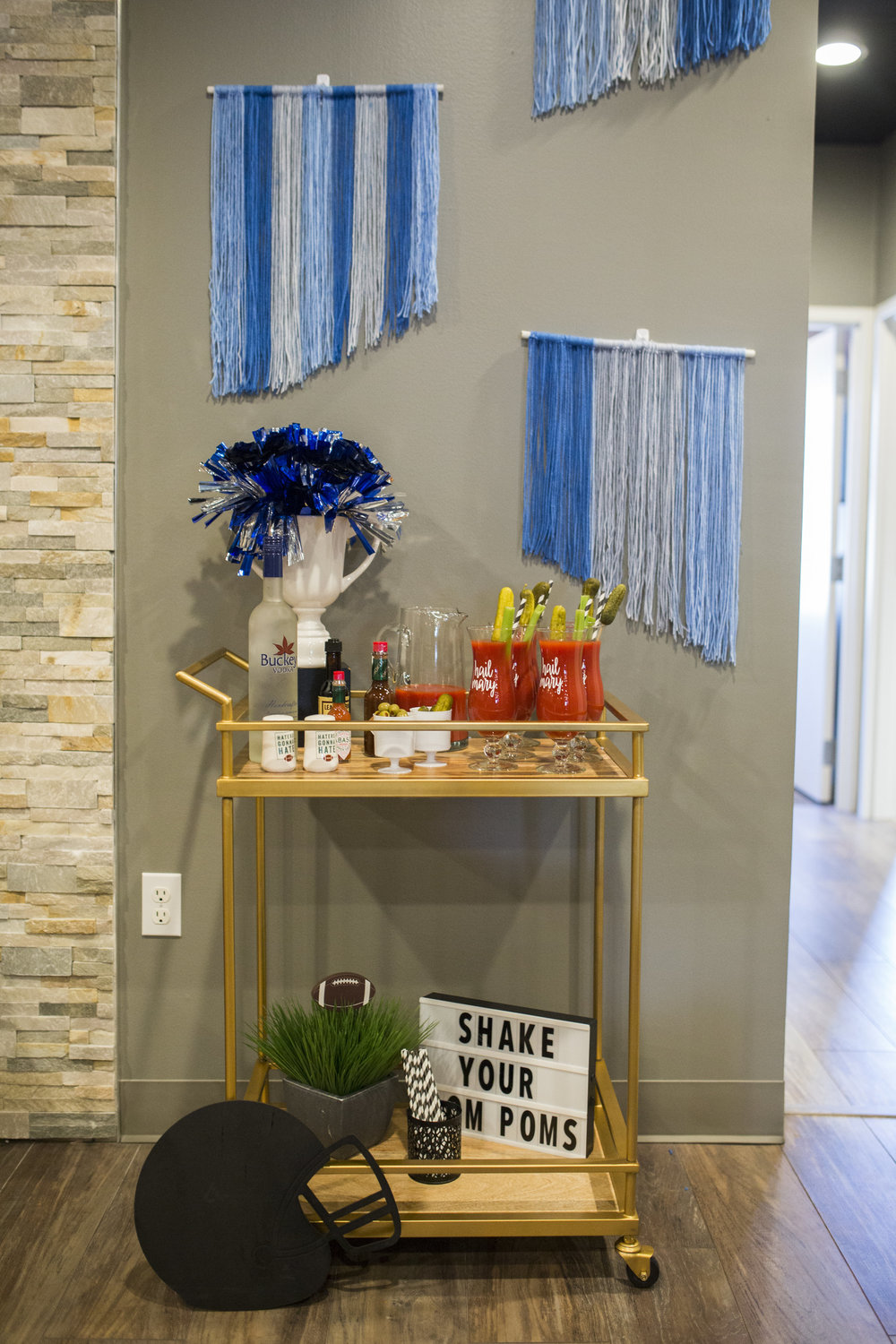 Football Party Ideas for Detroit Lions fans by Event Prep