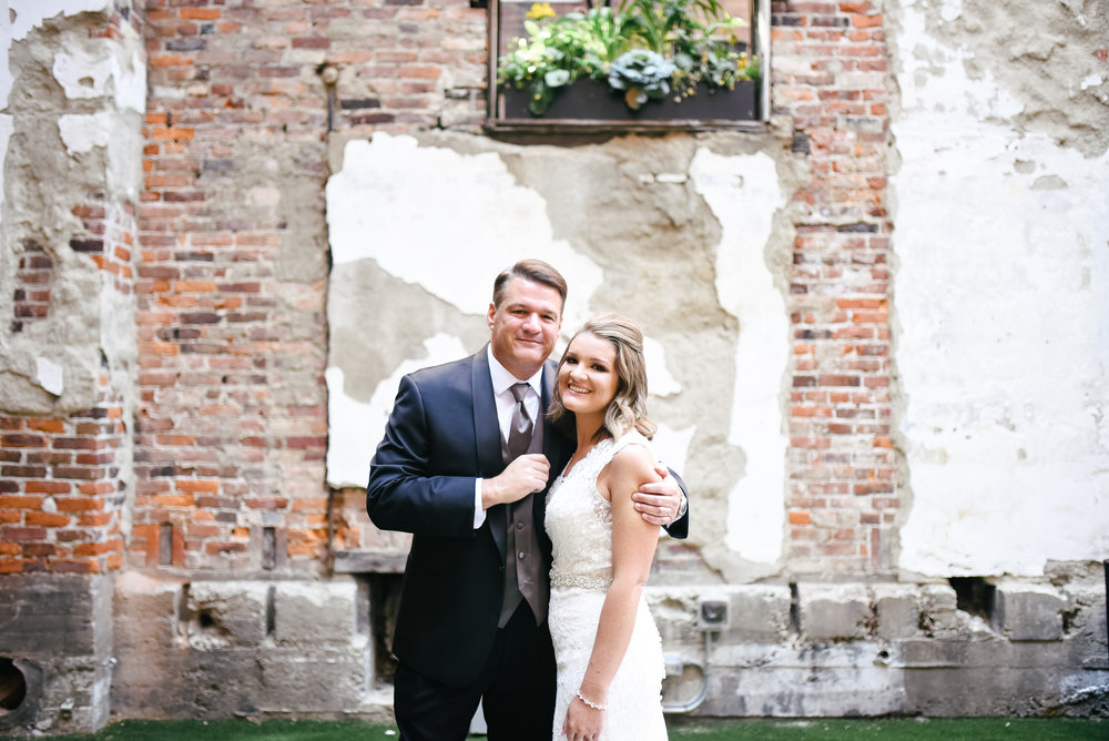 Lauren and Todd's Wedding in Covington, Kentucky with Event Coordination by Event Prep