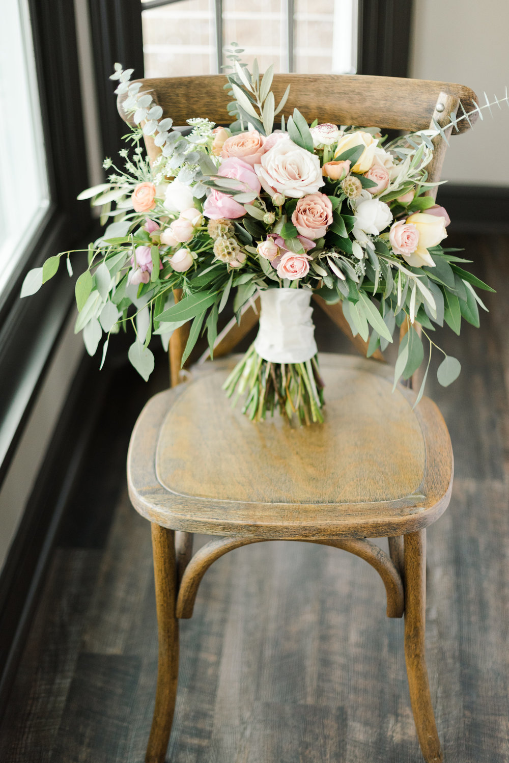 Romantic Wedding Design Inspired by the Senses - Styling by Event Prep and Photographed by Amanda Collins