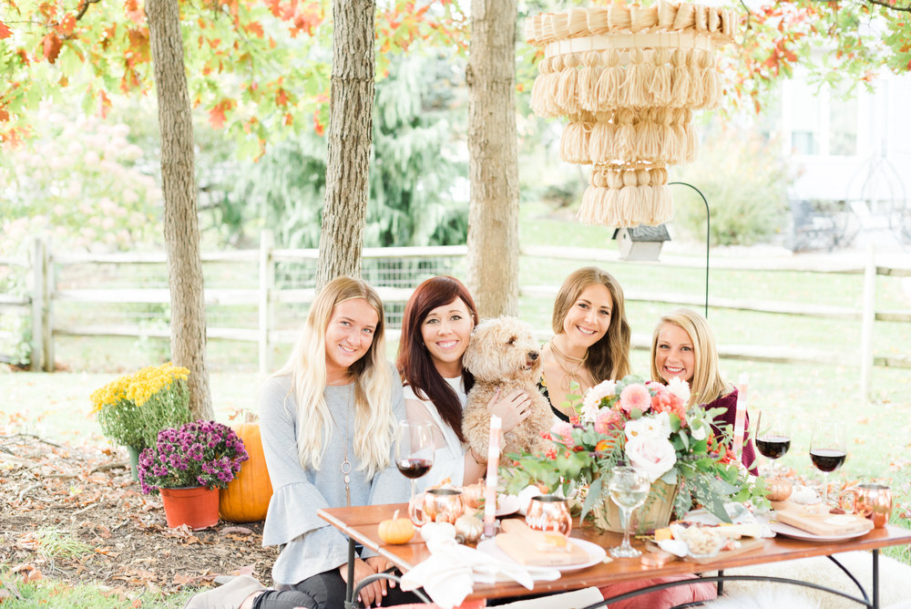 The Perfect Way to Celebrate Fall - A Wine Tasting Friendsgiving Party