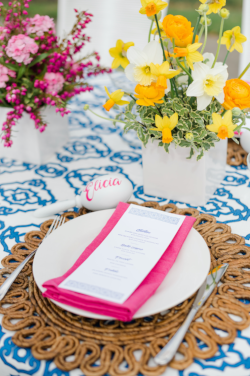 Fiesta Bridal Shower Inspiration by Cassandra Clair of Event Prep