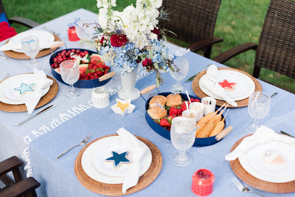 Stylish Fourth of July Party Ideas and Festive Cocktail Recipes by Cassandra Clair of Event Prep