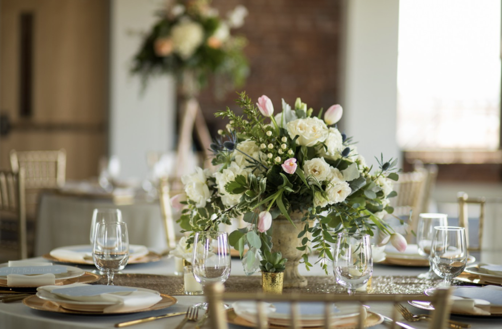 An Industrial Chic Wedding in Downtown Toledo with Galati Photography and Event Prep