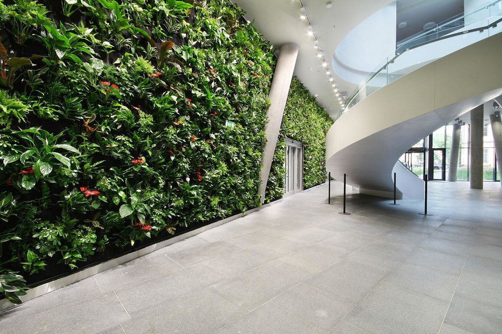 Green / Living Wall Nemec system
