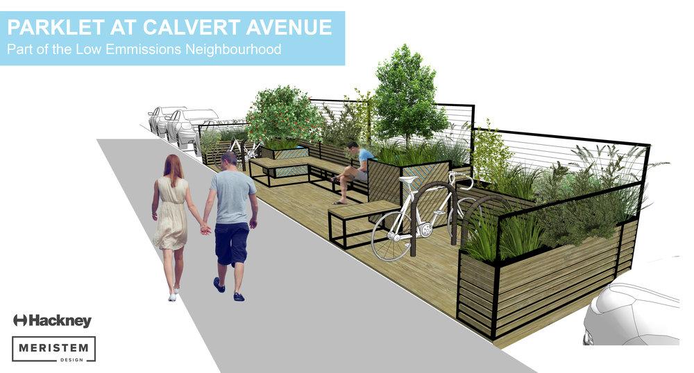 Urban Greening Visual Parklet