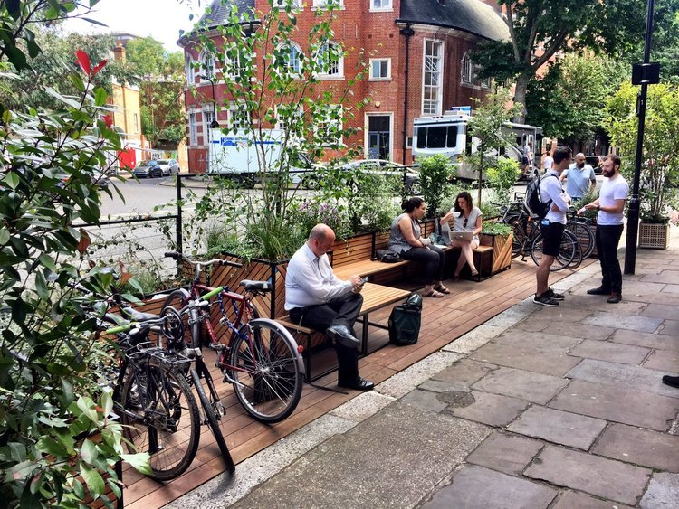 Shoreditch Parklet