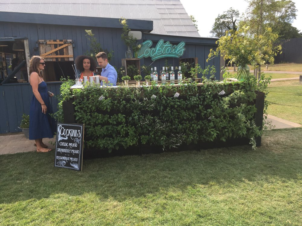 Copy of Soho Farmhouse and Bacardi Mint Living Wall