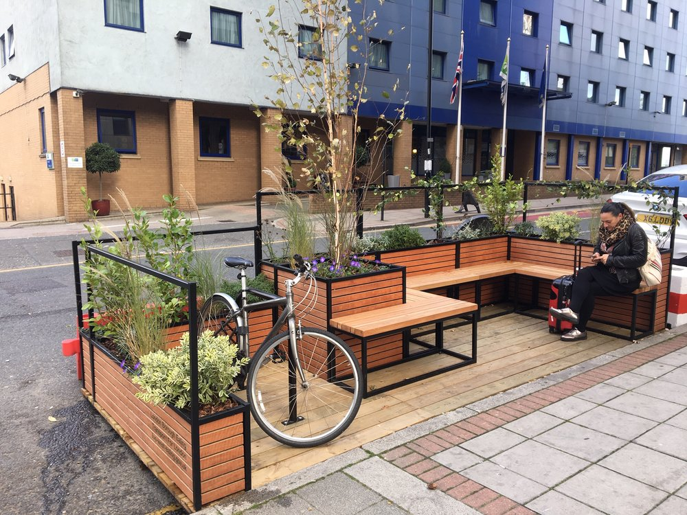 Ealing On-Street Parklets