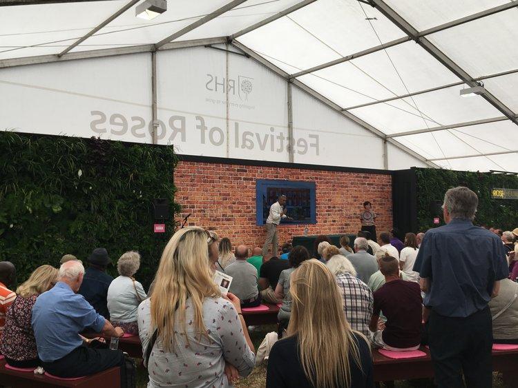 RHS Hampton Court FLower Show Living Wall Presentation 2