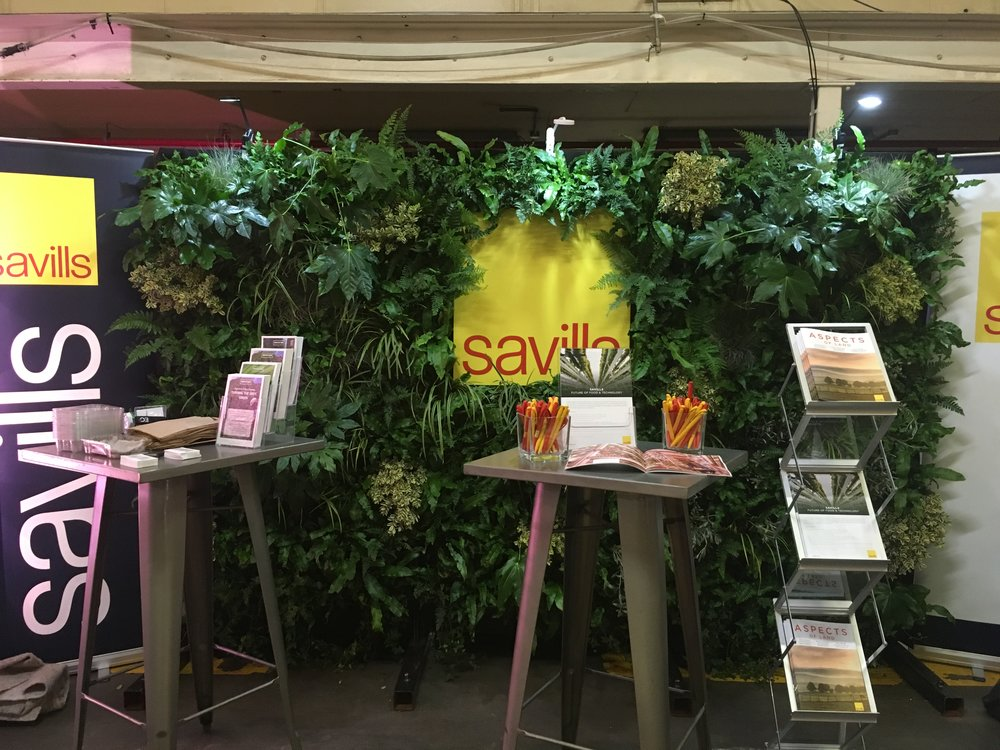 Savills Living Wall