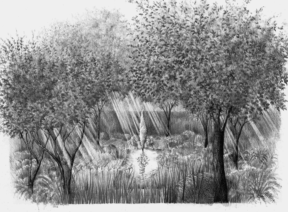 Savills and David Harber Garden at the RHS Chelsea Flower Show 2019, designed by Andrew Duff