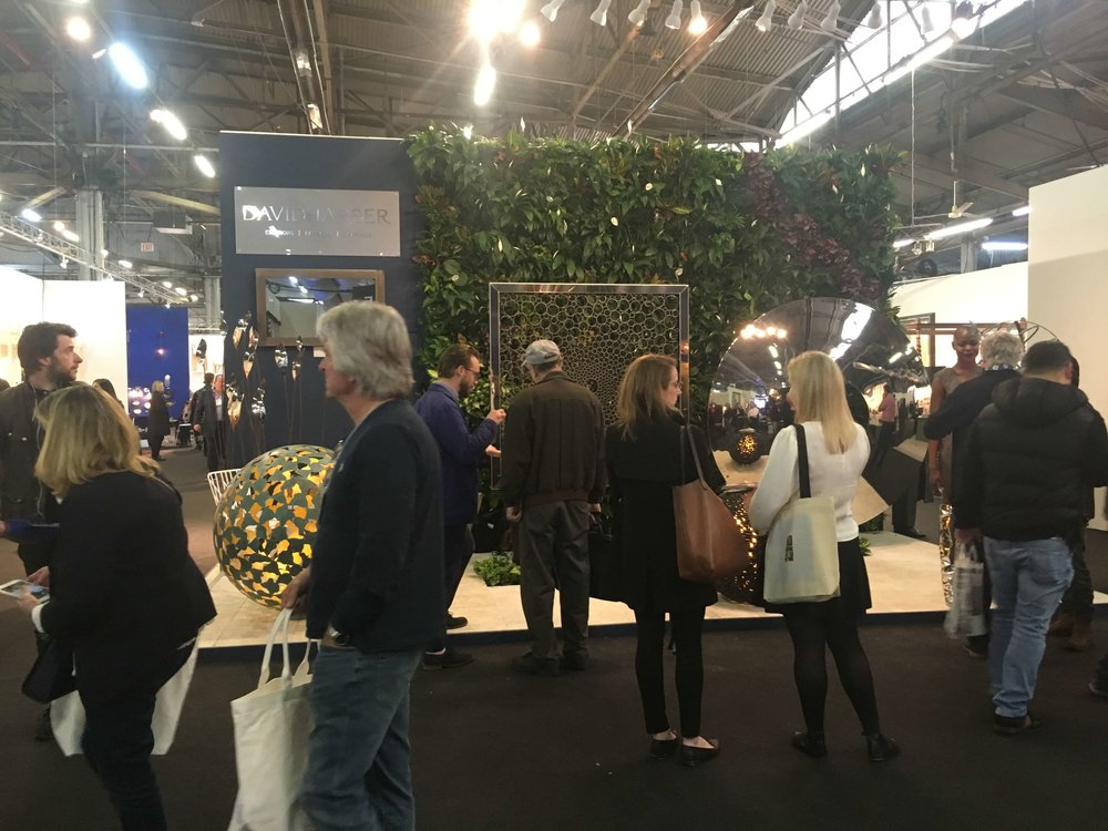 Living Wall at the AD Design Show with David Harber