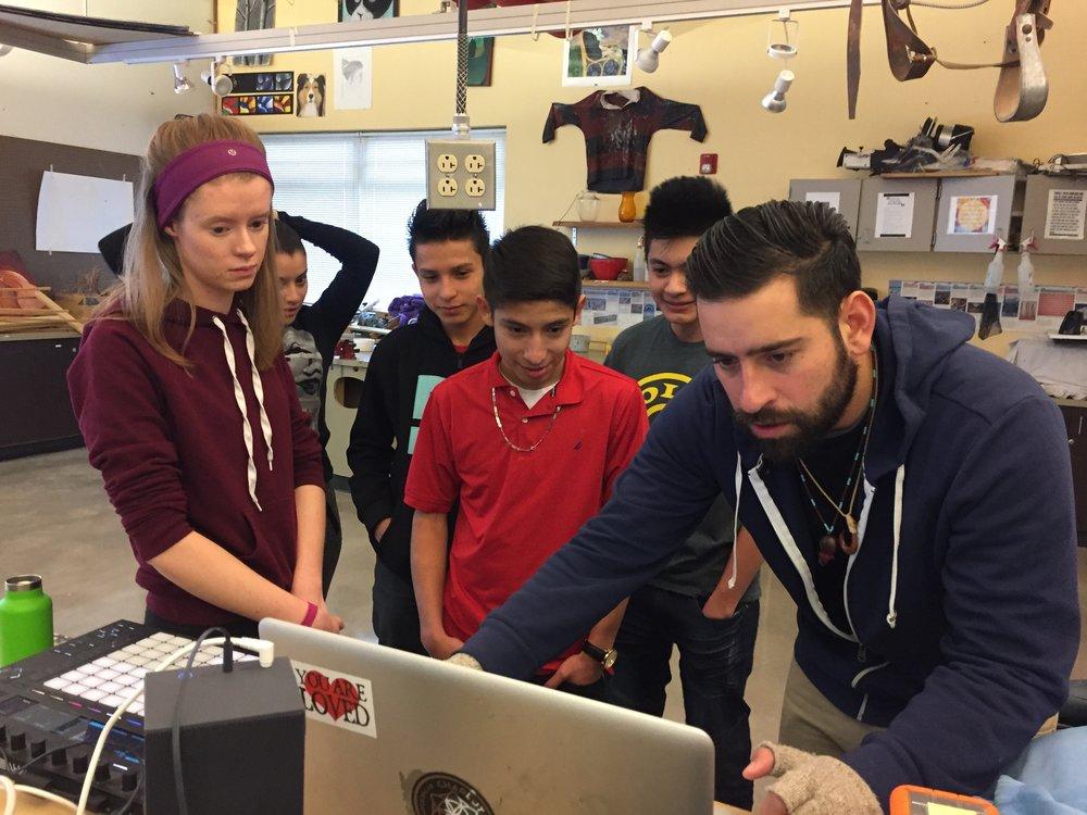Myrlin with Students.jpg