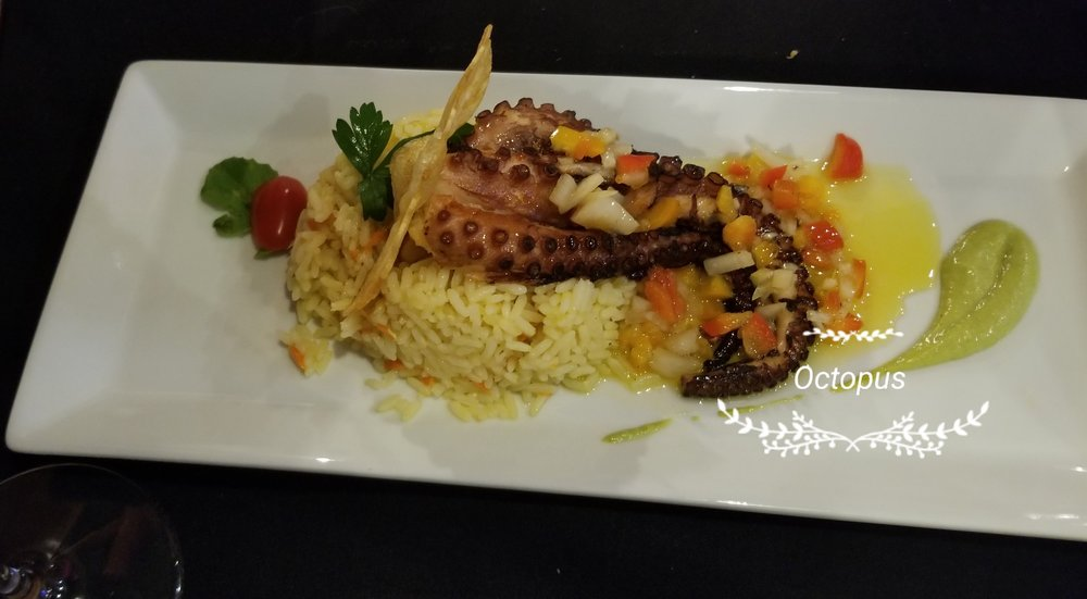 Lunch octopus   $16