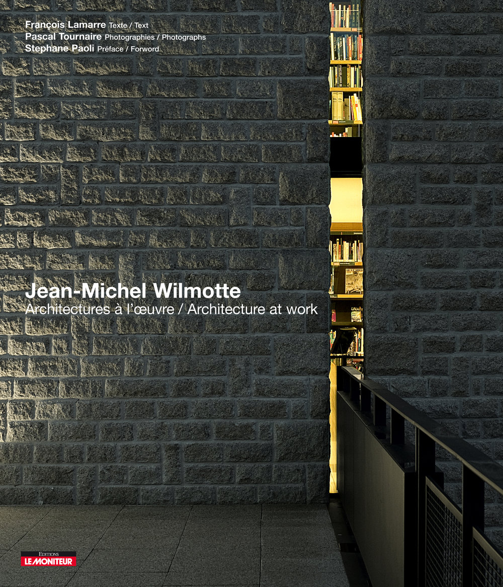 Jean-Michel WilmotteArchitecture at Work - Corporate Book Design for the French Architect Jean-Michel Wilmotte.Client: Jean-Michel Wilmotte / Le Moniteur