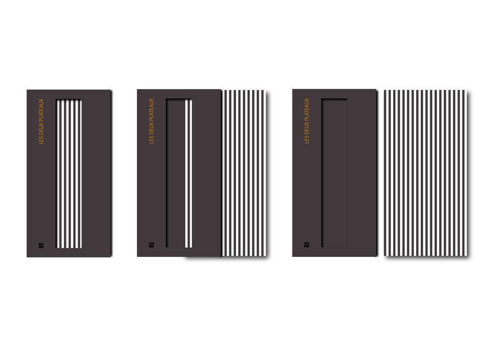 Buhr/Ferrier/GosséLes deux plateaux - Corporate Book Design for French Constructers Buhr/Ferrier/Gossé.Client: Buhr/Ferrier/Gossé / Éditions Textuel