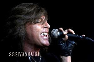 Joe Lynn Turner onstage in Russia
