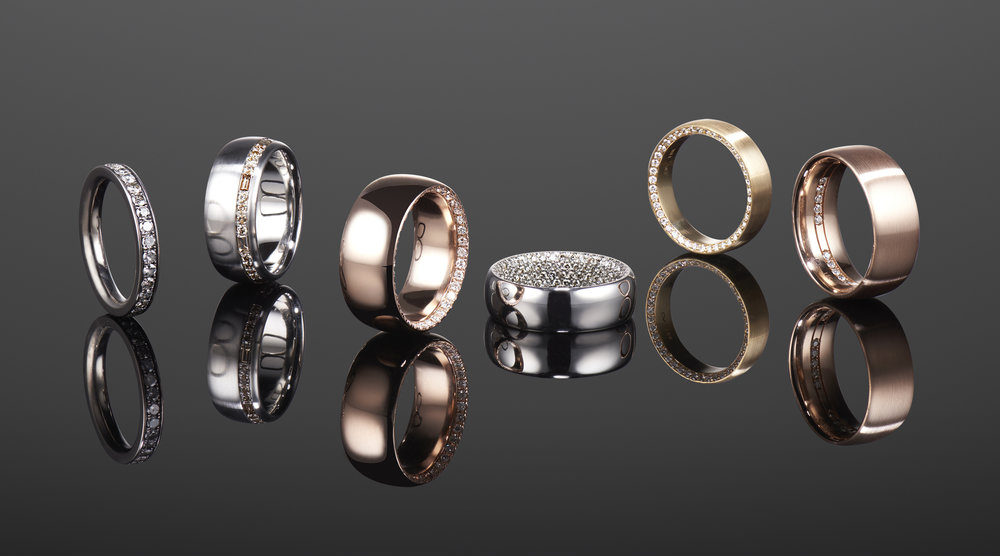 Mens Wedding Bands NYC Custom Jewelry David Alan Jewelry