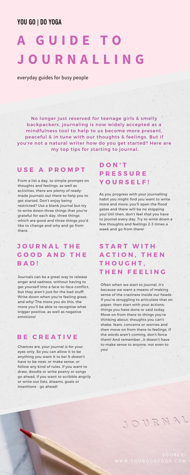 How to start a journalling practice