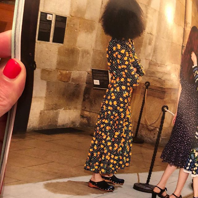 August Vogue. #cloglife at the Cloisters.