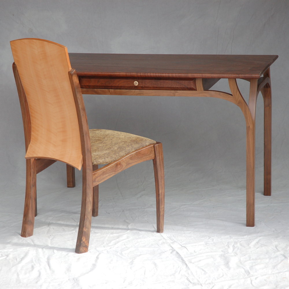 Lopez Desk, shown with Lopez Chair